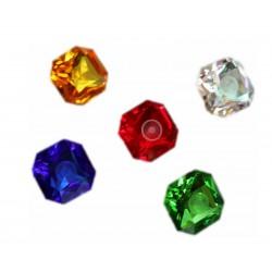 Kraftkristalle 40mm Einzeln und als SET (Achtkant)